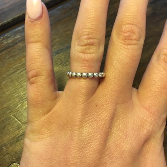 281d187e0 Pandora Jewelry | Eternal Clouds Stackable Ring | Poshmark